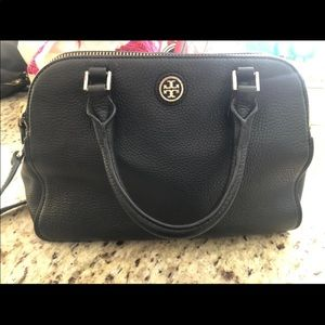 AUTH Tory Burch Double Zippered bag
